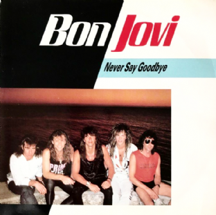 "Bon Jovi ‎- Never Say Goodbye (7"") (EX-/VG++)"